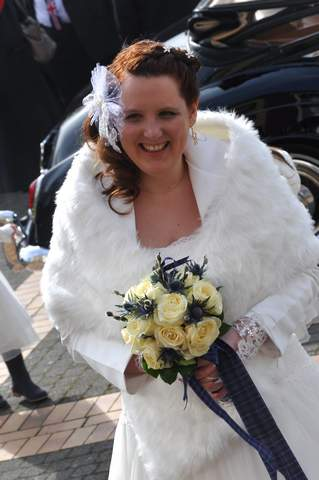 Mariée mariage ecossais